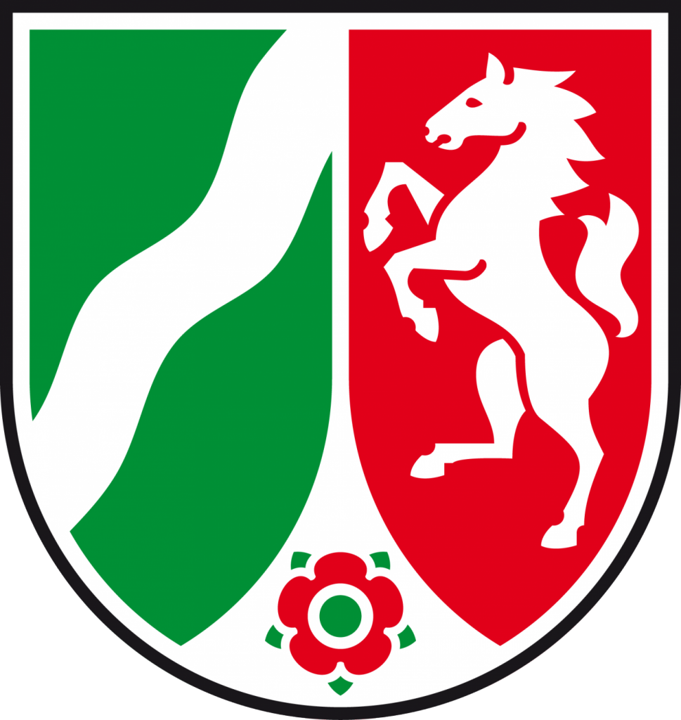 Wappen des Landes NRW