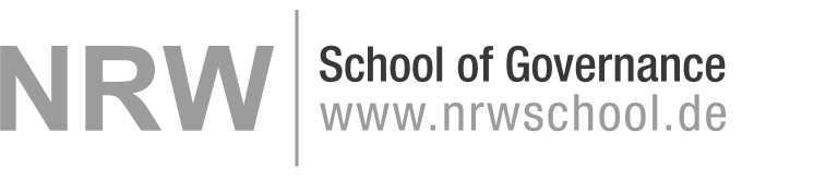Logo der NRW School of Governance